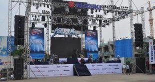 âm thanh ánh sáng lễ hội